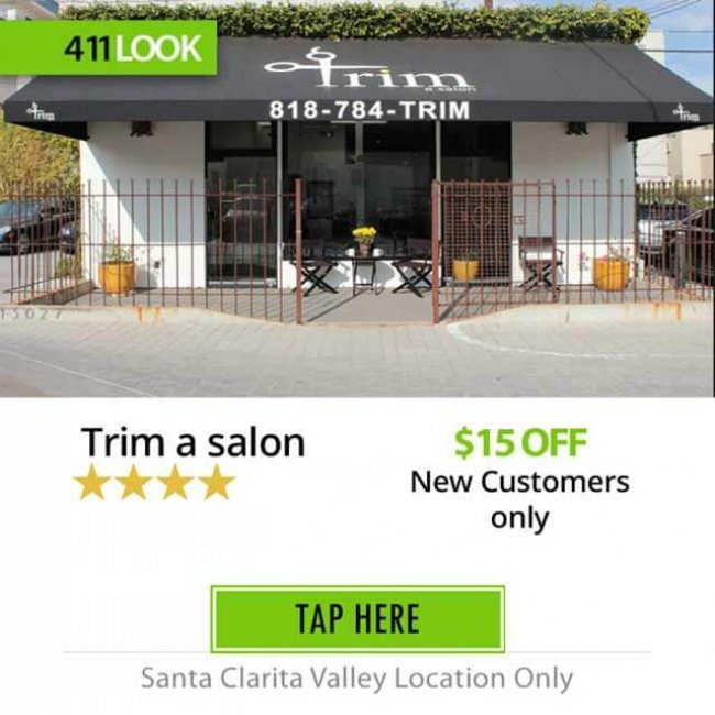 Trim a salon