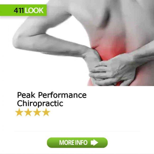 Peak Performance Chiropractic