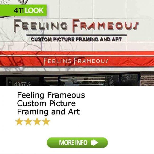 Feeling Frameous Custom Picture Framing and Art