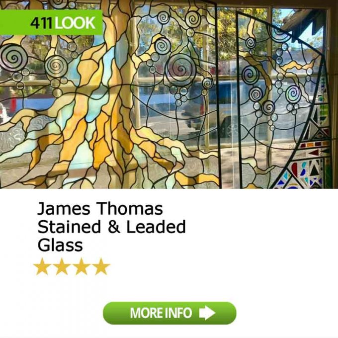 James Thomas Stained & Leaded Glass